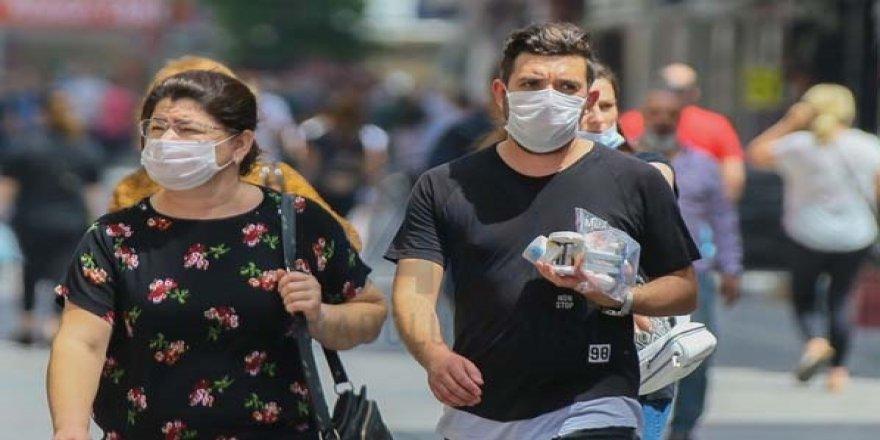 Terden ıslanan asla maskeyi kullanmayın
