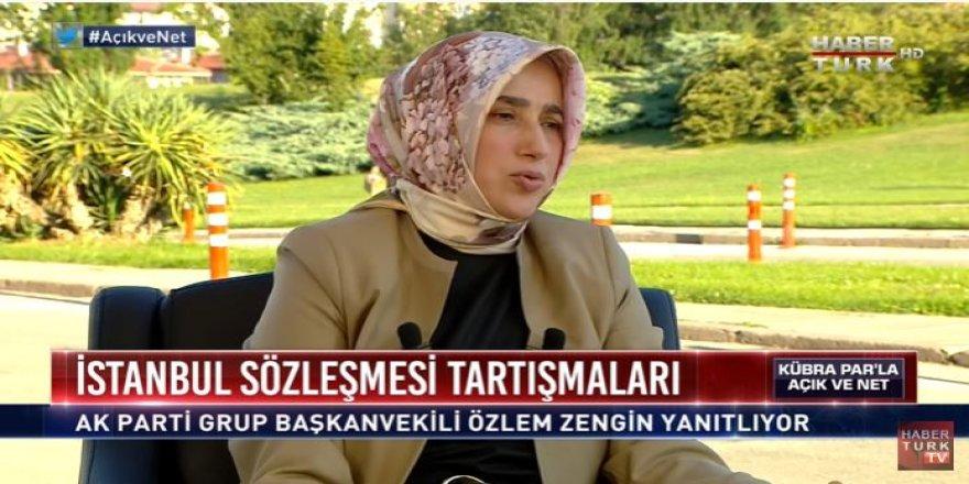 AK Parti Grup Başkanvekili Özlem Zengin'den Kadın derneklerine çağrı