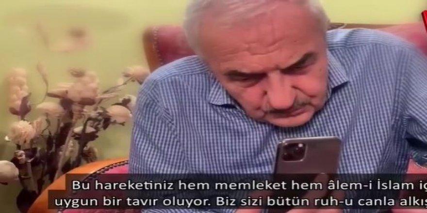 """Cumhurbaşkanı Erdoğan'a """"Ayasofya'da ilk namazı sizin kıldırmanızı istiyoruz"""" dedi"""