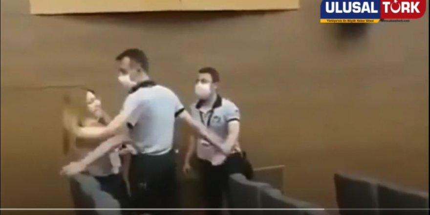 CHP'lilerin Gazeteci kadına saldırdığı görüntüler ortaya çıktı