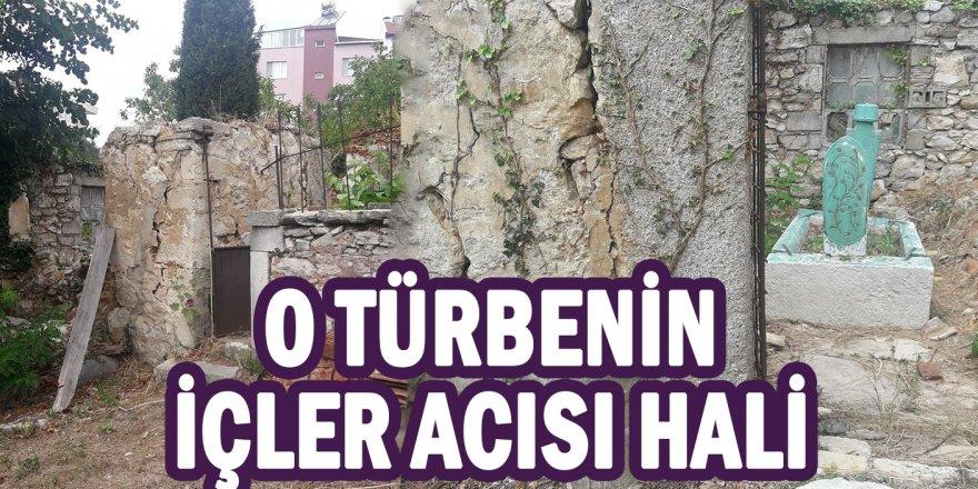 Sinop'taki o türbenin içler acısı hali