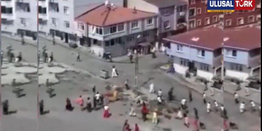 İstanbul Esenler'de meydan muharebesini aratmayan kavga
