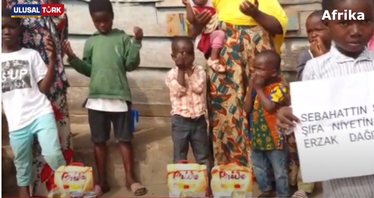 Mazlum coğrafyalarda Ultraslan Tribün Lideri Sebahattin Şirin için dua