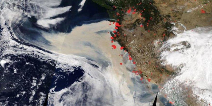 NASA uydu görüntüleriyle uyardı