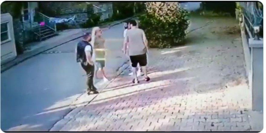 Halil Sezai'nin 67 yaşındaki amcayı acımasızca dövdüğü anlar kamerada