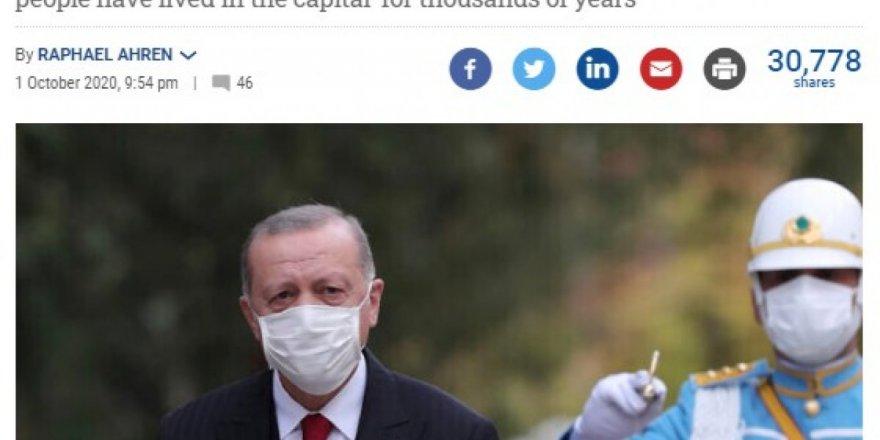 Erdoğan'ın o açıklaması İsrail'in gündemine oturdu