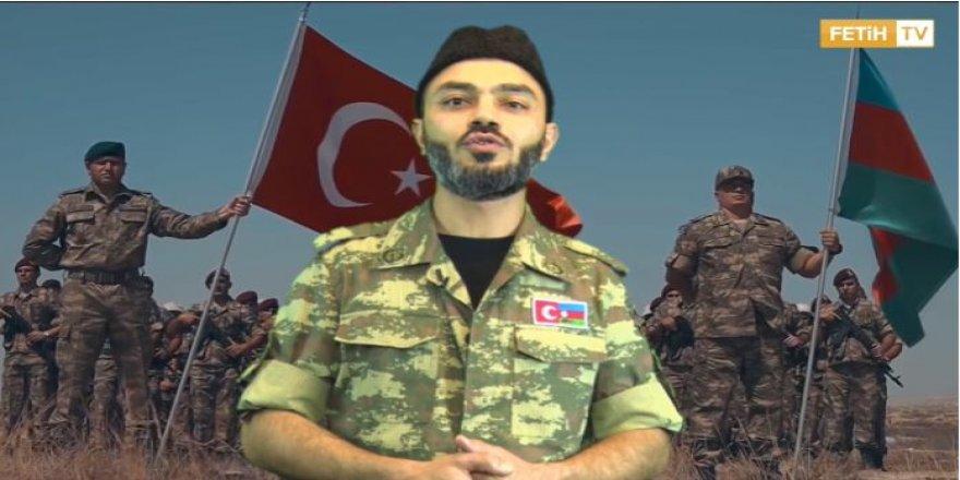 Azerbaycanlı Süleyman'dan Türkiye'ye teşekkür videosu