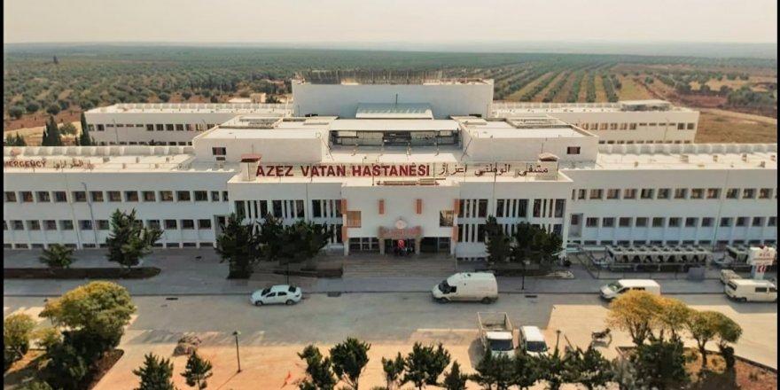 Milli Savunma Bakanlığın'dan 'Azez Vatan Hastanesi' paylaşımı