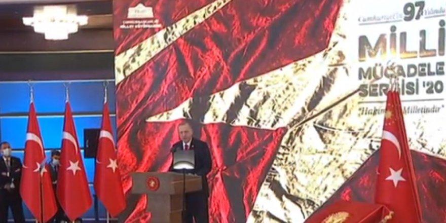 Cumhurbaşkanı Erdoğan:En büyük gücümüz bu tarihi mirasımızdır.