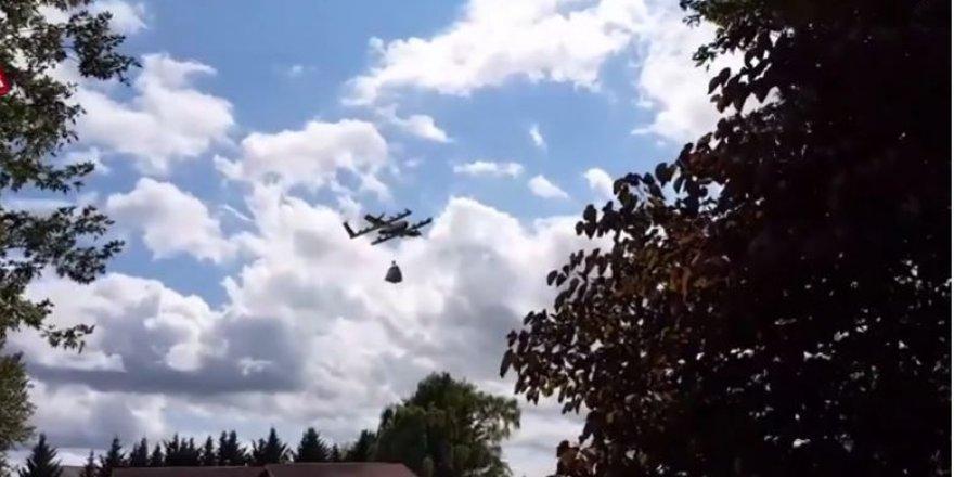 Google'ın Wing drone'ları 12 aydır teslimat yapıyor.