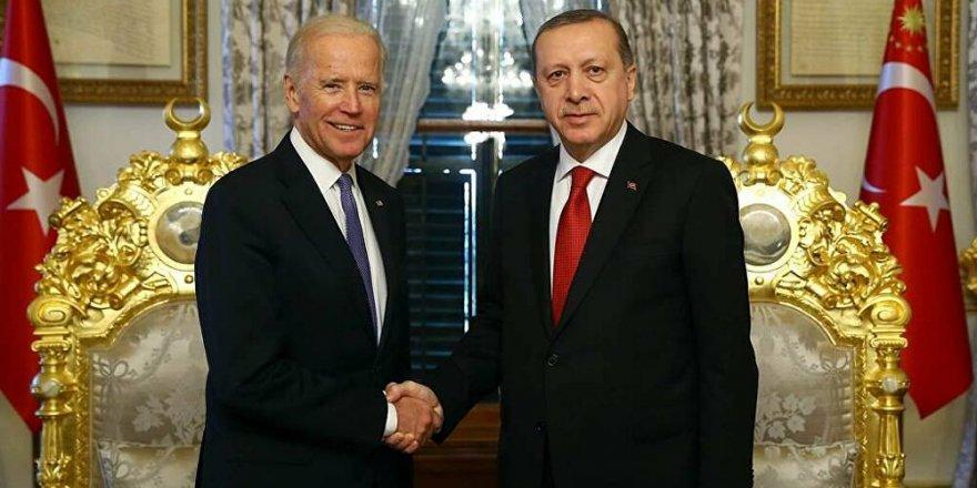 Erdoğan'dan Yeni ABD başkanı Joe Biden'e tebrik