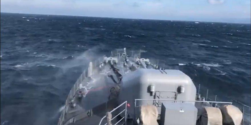 5 Ülke Türkiye'ye karşı Akdeniz'de ortak askeri tatbikata başladı