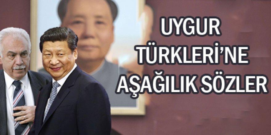 Doğu Perinçek'den Uygur Türkleri çıkışı