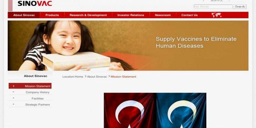 Ayyıldız Tim Çinli Aşı üreticisinin sitesini hackledi.