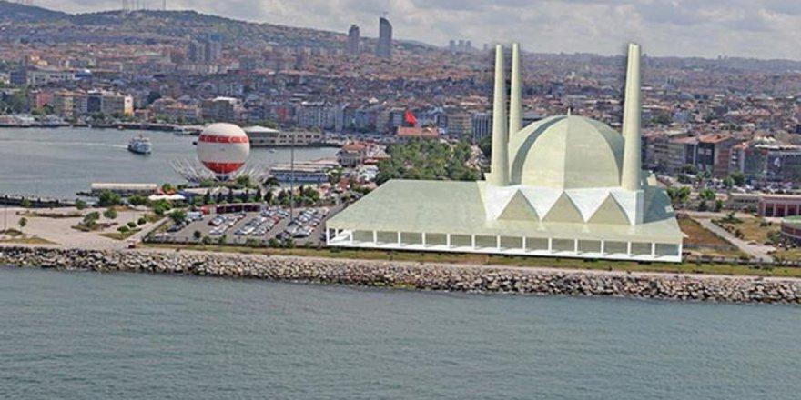 Kadıköy sahile yapılacak olan Camii CHP'nin itirazı ile durduruldu.