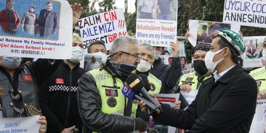 Osmanlı Motorsiklet Kulübünden Uygur Türklerine Destek