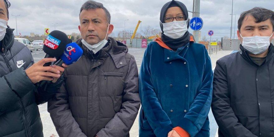 Günlerdir Aile Nöbeti Tutan Uygur Türkleri Çin'e geri adım attırdı.