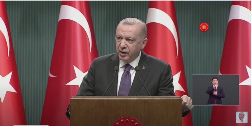 Erdoğan'dan esnaflara: Vakaların düşmesini bekliyoruz