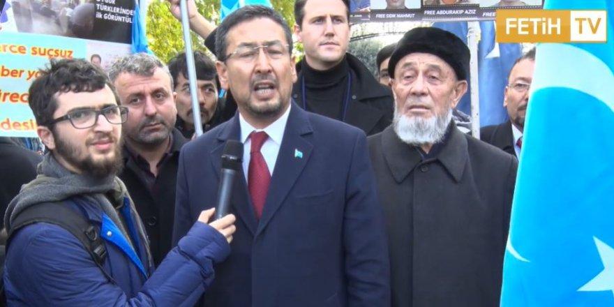 Uygur Türkü Seyit Tümtürk'e Maocu Doğu Perinçek dava açtı