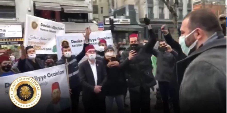 Abdülhamid Kayıhan Osmanoğlu'nun görüntüleri sol medyayı rahatsız etti