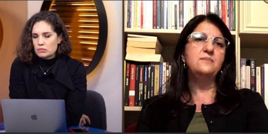 Fezlekeler gelince Pervin Buldan:PKK ile herhangi bir ilişkimiz bir irtibatımız yoktur