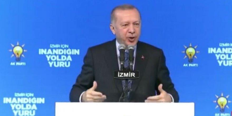 Cumhurbaşkanı Erdoğan:Bunlar sahtekar