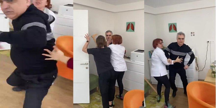 İzmir'de Prof. Dr. Hasan Yüksel hasta yakınına saldırdı