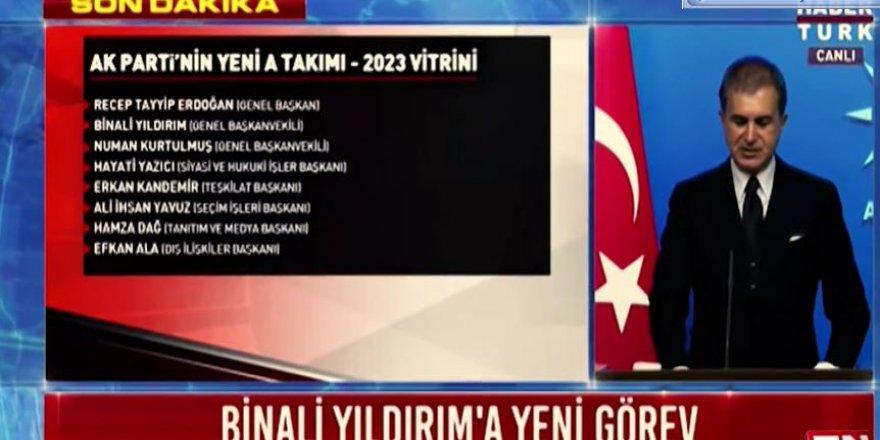 Ak Parti''yi 2023'e taşıyacak dev kadro ! İsim isim MYK listesi