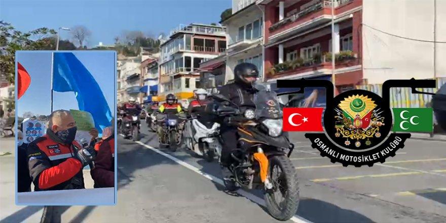 Osmanlı Motosiklet Kulübünden Uygur Türklerine Destek