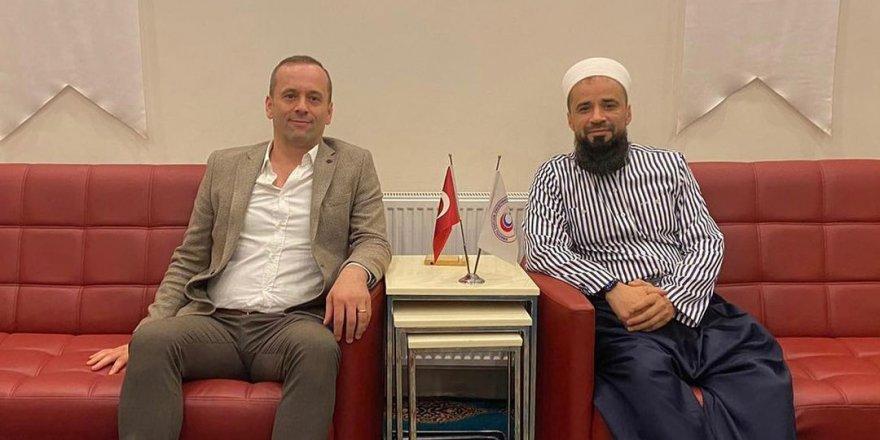 MHP İl Başkan Yardımcısı Engin Arapoğlu'ndan Nezir Yıldız'a Ziyaret