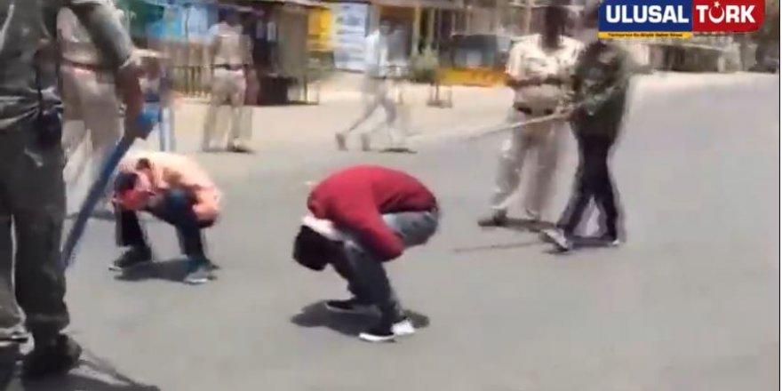 Hindistan'da yasakları deleni polis affetmedi