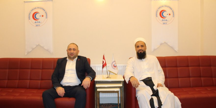 MHP Beyoğlu İlçe Başkanı Bayram Gölcük'den Nezir Yıldız'a ziyaret