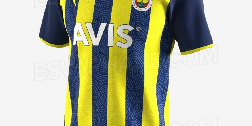 Fenerbahçe'nin yeni sezon forması sızdırıldı