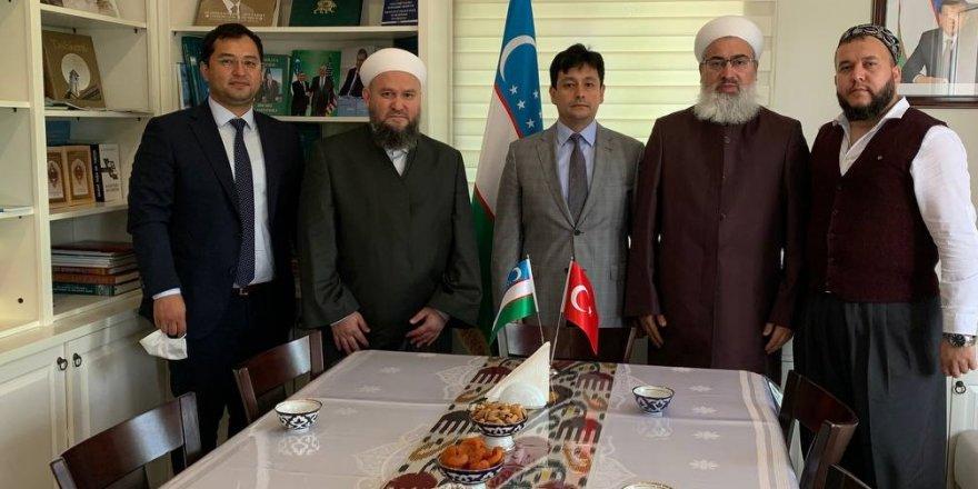 Müceddid Mahmut Efendi Vakfı'ndan Özbekistan Başkonsolosluğuna ziyaret