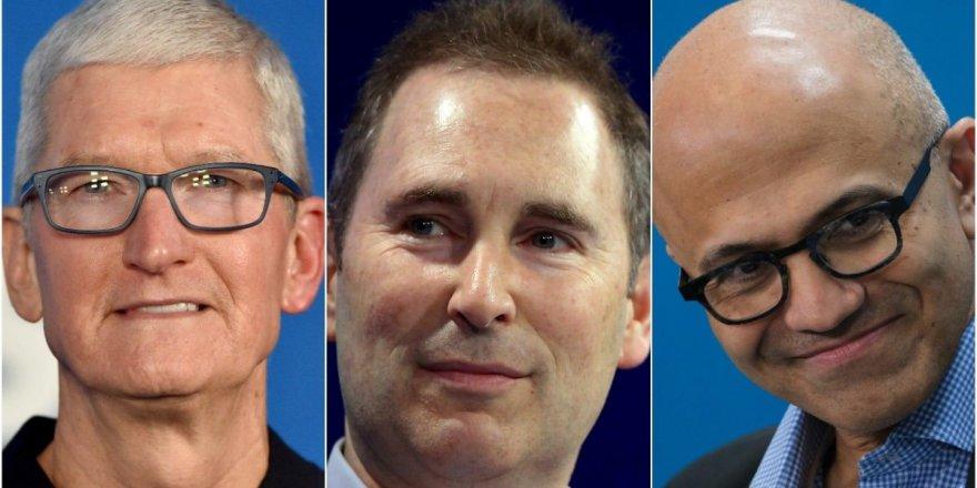 Joe Biden Apple, Amazon ve Microsoft yöneticileri ile görüşecek