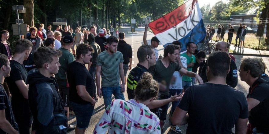 Hollanda'ya 800 Afgan geldi diye ortalığı karıştırdılar