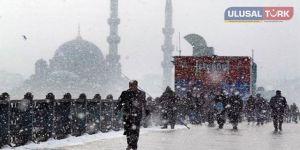 İstanbul'da soğuk hava alarmı!