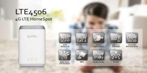 Zyxel'den üstün teknoloji ürünü: LTE4506 HomeSpot