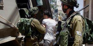 İsrail Ordusu Ekim 2015'ten bu yana 3 bin 369 Filistinliyi gözaltına aldı