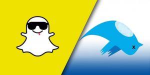 Snapchat Twitter'i solladı