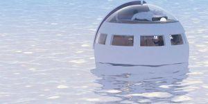 Japonlar'ın yeni tasarımı yüzen otel görücüye çıktı