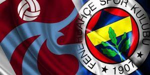 Fenerbahçe ile Trabzonspor yine anlaşamıyolar