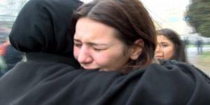 YGS'ye geç kalan öğrenci gözyaşlarına boğuldu