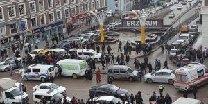 Erzurum'da iki grup birbirine girdi : 4 yaralı