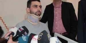 Hollanda'da yaralanan Türk İstanbul'da