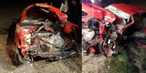 Osmaniye'de korkunç kaza : 2 ölü, 4 yaralı