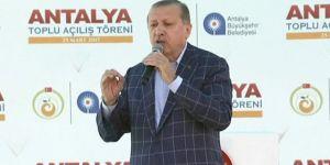 """Erdoğan """"Ey Kılıçdaroğlu sen yalan makinesisin"""""""