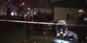 Ankara'da feci kaza: 4 ölü, 1 yaralı