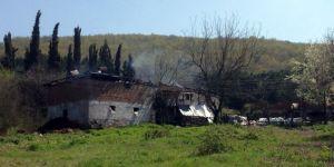 Evde yangın faciası:3 çocuk öldü