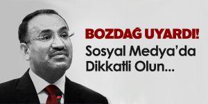 Adalet Bakanı'ndan Sosyal Medya Uyarısı!
